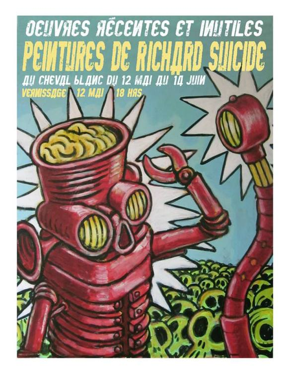 richard suicide affiche expo